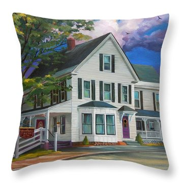 Fournier Funeral Home Throw Pillow