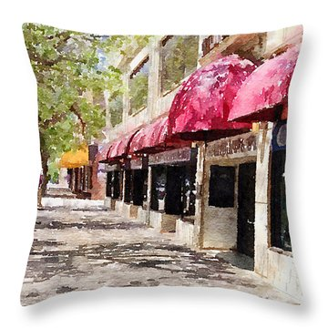 Fourth Avenue Throw Pillow