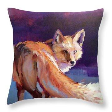 Fox 1 Throw Pillow