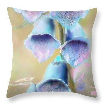 Fox Breeze Throw Pillow
