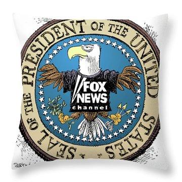 Fox News Presidential Seal Throw Pillow