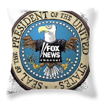 Fox News Presidential Seal Throw Pillow