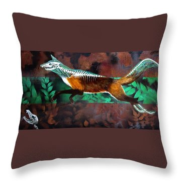 Fox Run Throw Pillow