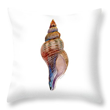 Fox Shell Throw Pillow