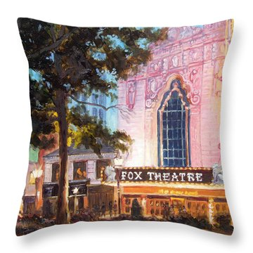 Fox Theatre In St.louis Throw Pillow