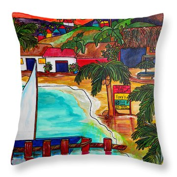 Caribbean Throw Pillows