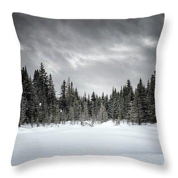 Fozen Throw Pillow