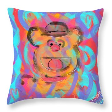 Fozzie Throw Pillow