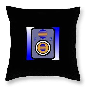 Amplifier Throw Pillow