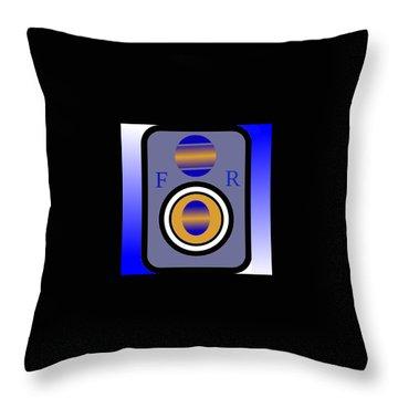 Amplifier Throw Pillow