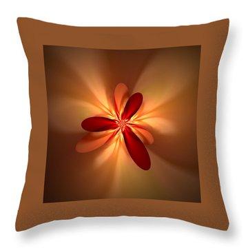 Fractal 4 Throw Pillow