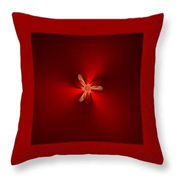 Fractal 5 Throw Pillow