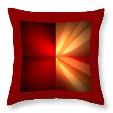 Fractal 6 Throw Pillow