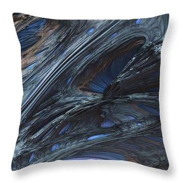 Fractal Structure 002 Throw Pillow
