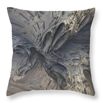 Fractal Structure 006 Throw Pillow