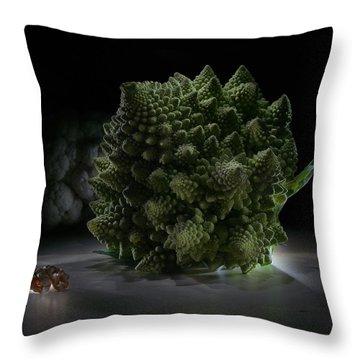 Fractal Supper Throw Pillow
