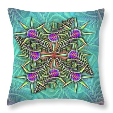 Fractalpazzle Throw Pillow