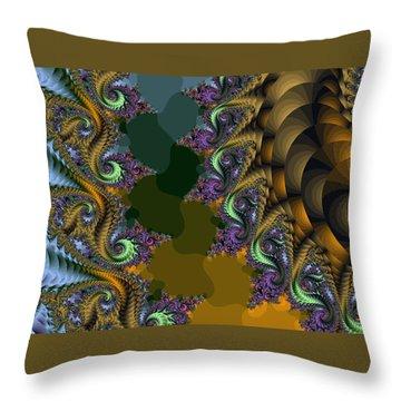 Fractals83002 Throw Pillow