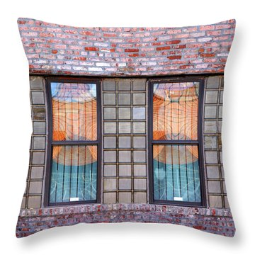 Fracture Reflection Throw Pillow