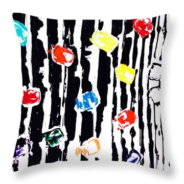 Fractured Light  Throw Pillow