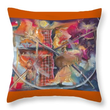 Fragile Detail  Throw Pillow