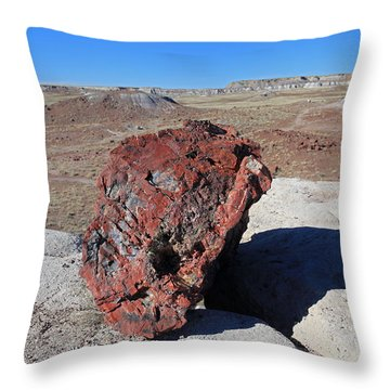 Fragile Survivor Throw Pillow