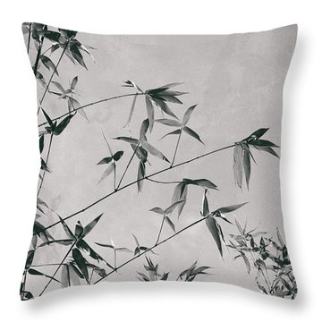 Throw Pillow featuring the photograph Fragility And Strength by Linda Lees