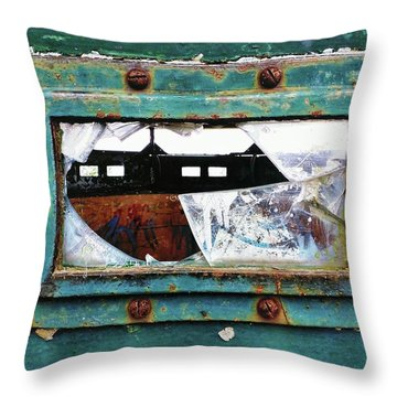 Fragment Of History Throw Pillow