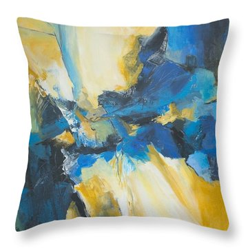 Fragments Of Time Throw Pillow by Glory Wood