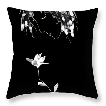 Fragrance Throw Pillow by Asok Mukhopadhyay