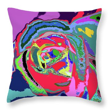 Fragrance Of Color  Throw Pillow
