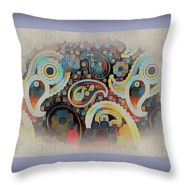 Framed Fantasy Throw Pillow