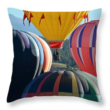 Throw Pillow featuring the photograph Framed by Kevin Munro
