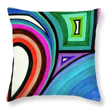 Framed Motion Throw Pillow