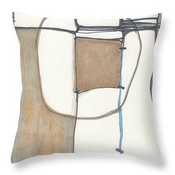 Framed Throw Pillow by Sandra Church