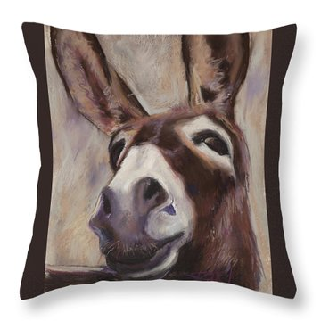 Francis Throw Pillow by Billie Colson