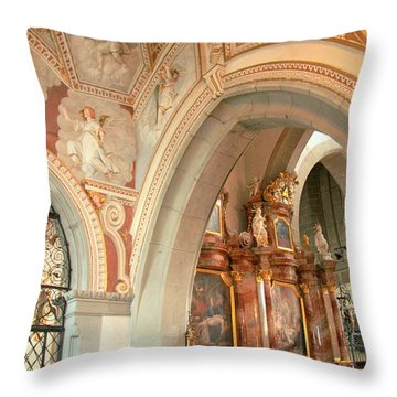 Franciscan Decor Throw Pillow