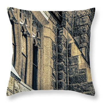 Franco Center Lewiston Maine Throw Pillow