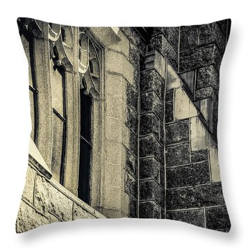 Franco Center Lewiston Maine II Throw Pillow