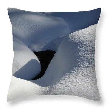 Franconia Brook - White Mountains New Hampshire  Throw Pillow by Erin Paul Donovan