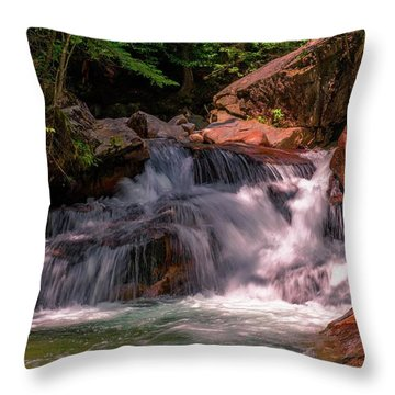 Franconia Notch 2 Throw Pillow by Sherman Perry