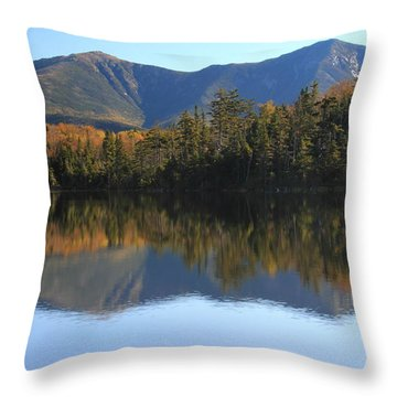 Franconia Ridge From Lonesome Lake Throw Pillow
