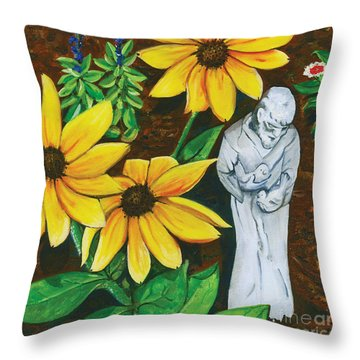 Frank And Susan Throw Pillow