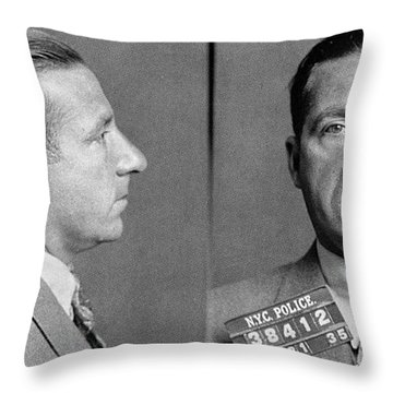 Frank Costello (1891-1973) Throw Pillow by Granger