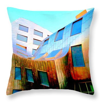 Frank Gehry 9 Throw Pillow