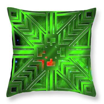 Frank Lloyd Wright Design Throw Pillow