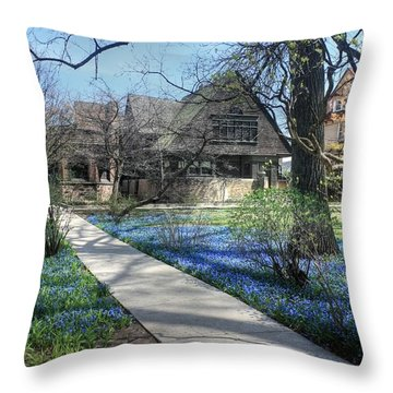 Frank Lloyd Wright Studio Throw Pillow