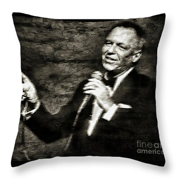Frank Sinatra -  Throw Pillow