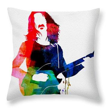 Frank Zappa Throw Pillows