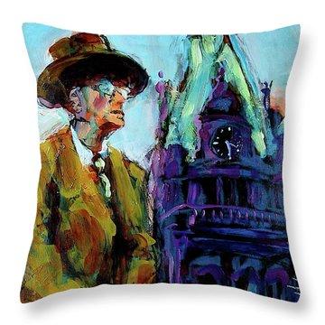 Frank Zeidler Throw Pillow